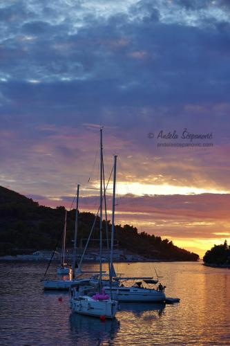 Vela Luka Sunset 06.10.2019,